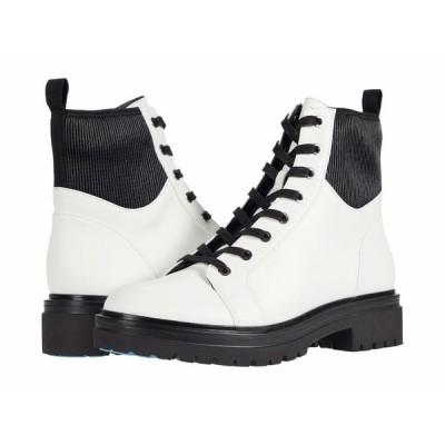 ケネスコール ブーツ&レインブーツ シューズ レディース Rhode Light Lace-Up White Leather