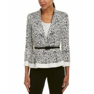 Carolina  ファッション 衣類 Carolina Herrera Jacket 2 White