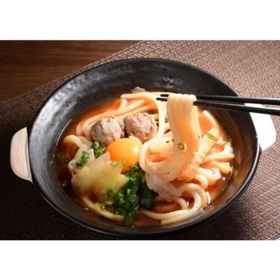 冷凍食品 冷凍うどん チゲ鍋うどん ピリ辛具材入りうどんセット 約298g×5食