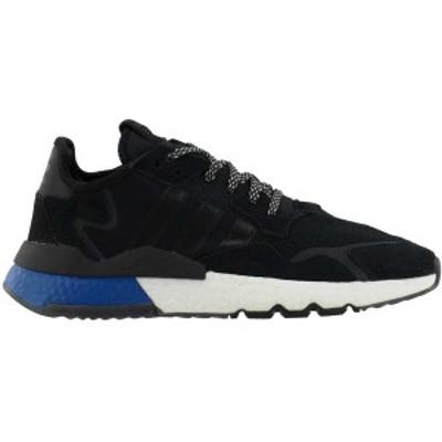 アディダス メンズ スニーカー シューズ Nite Jogger Lace Up Sneakers Core Black
