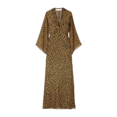 MICHELLE MASON 7分丈ワンピース・ドレス カーキ 0 シルク 100% 7分丈ワンピース・ドレス