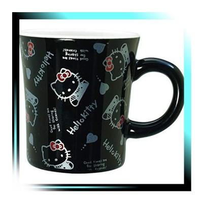 ブラック 「 ハローキティ 」 ジェネレーション マグカップ '80