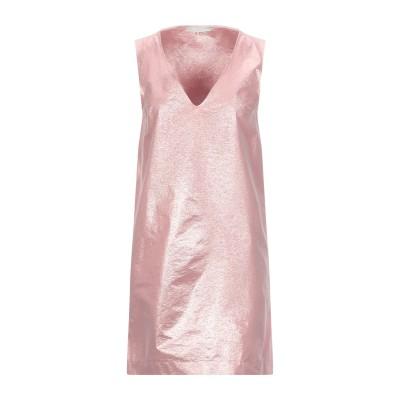 ロートレ ショーズ L' AUTRE CHOSE ミニワンピース&ドレス ピンク 40 ポリエステル 48% / ナイロン 40% / ポリウレタン
