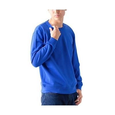 ティーシャツドットエスティー トレーナー 無地 裏パイル 8.4oz メンズ ブルー XXL