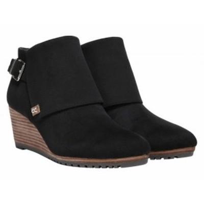 Dr. Scholls ドクターショール レディース 女性用 シューズ 靴 ブーツ アンクル ショートブーツ Create Black【送料無料】