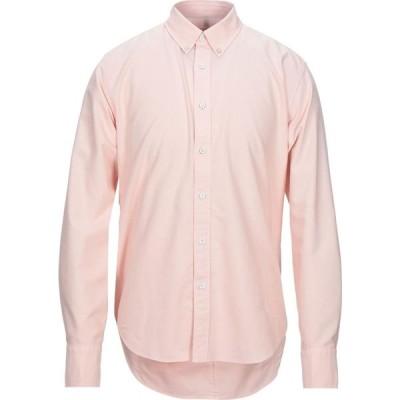 ラグ&ボーン RAG & BONE メンズ シャツ トップス Solid Color Shirt Pink