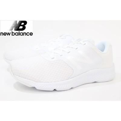 通学靴 白靴 ニューバランス レディース スニーカー NB new balance W413 SW1 WHITE