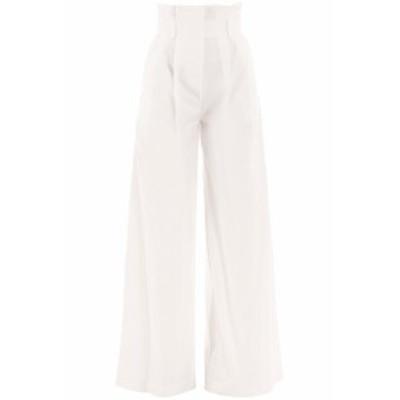 AWAKE MODE/アウェイクモード ワイドパンツ OFF WHITE A.w.a.k.e. mode high-waist flared pants レディース 春夏2020 PSS20 P01 ik