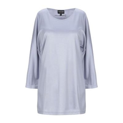ジョルジオ アルマーニ GIORGIO ARMANI T シャツ スカイブルー 42 シルク 60% / コットン 40% T シャツ