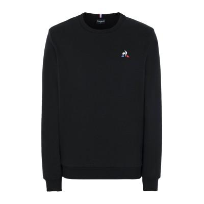 ルコックスポルティフ LE COQ SPORTIF スウェットシャツ ブラック S コットン 85% / ポリエステル 15% スウェットシャツ