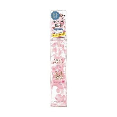ボディクリーム AQUA SAVON FLOWER BODY GEL アクアシャボン サクラフローラルの香り フラワーボディジェル レディース 140