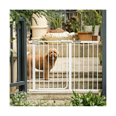 Indoor Pet Safety Gate Anti-Blocking Cat and Dog Fence Stair Railing Isolation Door Easy to Install 11.28 (Size : Main gate)