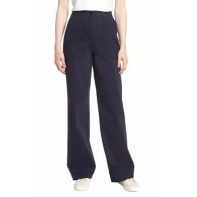 Nordstrom ノードストローム ファッション パンツ Nordstrom Signature NEW Navy Blue Womens Size 10 Stretch Pants