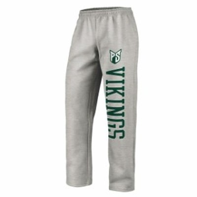 Fanatics Branded ファナティクス ブランド スポーツ用品  Fanatics Branded Portland State Vikings Gray Sideblocker Fleece Pants