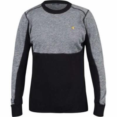 フェールラーベン ニット・セーター Bergtagen Woolmesh Sweaters Grey