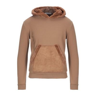 ダニエル アレッサンドリーニ DANIELE ALESSANDRINI スウェットシャツ ブラウン S コットン 100% / ポリエステル スウェ