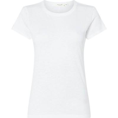 ラグ&ボーン Rag and Bone レディース Tシャツ トップス Short Sleeved T-Shirt White