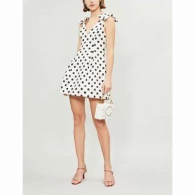 ジマーマン パーティードレス corsage linen dress Ivryblkdot