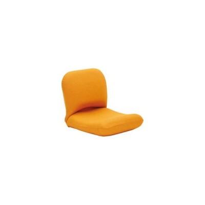 背中を支える美姿勢座椅子 オレンジ  背中3 OR