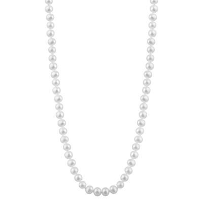 スプレンデッドパールズ ネックレス・チョーカー・ペンダントトップ アクセサリー レディース Splendid Pearls 14K 7-7.5mm Freshwater Pearl Necklace -