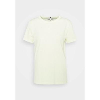 トミー ヒルフィガー Tシャツ レディース トップス COOL TEE - Basic T-shirt - frosted lemon