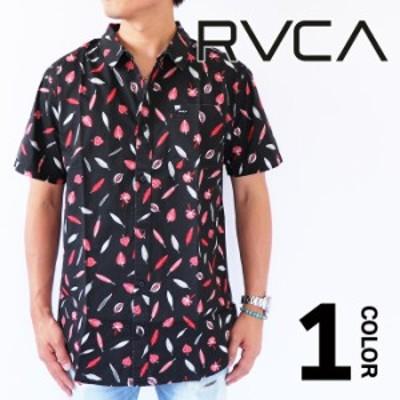 【20%オフ・セール】RVCA ルーカ TOM GERRARD シャツ 半袖 トップス ショートスリーブシャツ メンズ サーフ