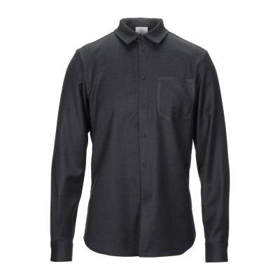 エンポリオ アルマーニ EMPORIO ARMANI シャツ 鉛色 40 ウール 98% / ポリウレタン 2% シャツ