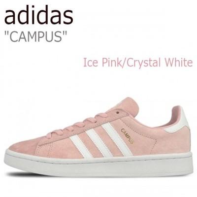 アディダス スニーカー adidas メンズ レディース CAMPUS キャンパス Ice Pink Running White Crystal White ピンク ホワイト BY9845 シューズ