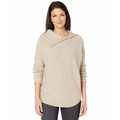 マックススタジオ ニット&セーター アウター レディース Long Sleeve Tunic Sweater Heather Oatmeal