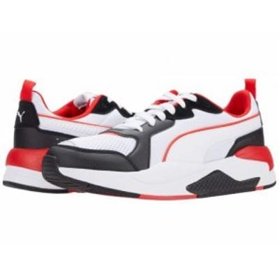 PUMA プーマ メンズ 男性用 シューズ 靴 スニーカー 運動靴 X-Ray Puma White/Puma White/Puma Black/High-Risk Red/Puma【送料無料】