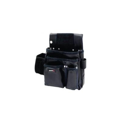 アクロス KAWATEC2(カワテック2) 仮枠釘袋墨壺ケース付(ブラック) KW-722B