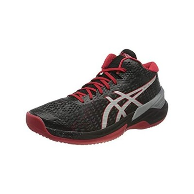 特別価格ASICS Men's Sky Elite FF MT Volleyball Shoe, Black Pure Silver, 6.5 UK好評販売中