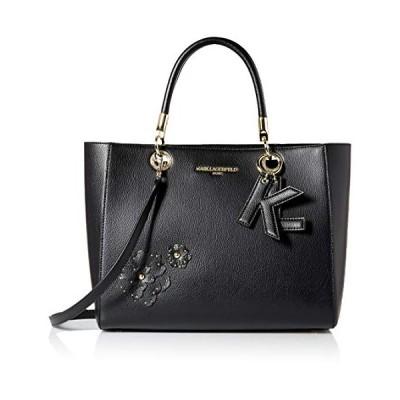 Karl Lagerfeld Paris ミランダ・ハーミン装飾トート US サイズ: One Size カラー: ブラック並行輸入品