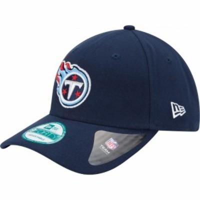ニューエラ New Era メンズ キャップ 帽子 Tennessee Titans League 9Forty Adjustable Navy Hat