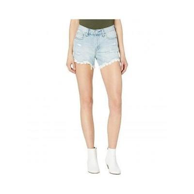 Blank NYC ブランクエヌワイシー レディース 女性用 ファッション ショートパンツ 短パン Barrow Shorts with Lace Detail in No Thrills - No Thrills
