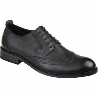 トーマスアンドバイン Thomas and Vine メンズ シューズ・靴 ウイングチップ ダービーシューズ Uriah Wing Tip Derby Black