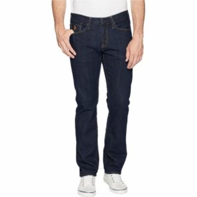 ユーエスポロアッスン U.S. POLO ASSN. メンズ ジーンズ・デニム ボトムス・パンツ Slim Straight Five-Pocket Denim Jeans in Blue Blue