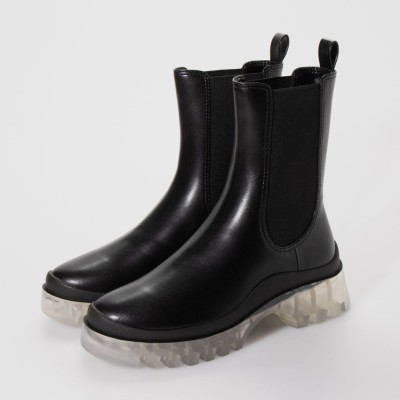 【2020 WINTER】チェルシーブーツ / Chelsea Boots (Black)