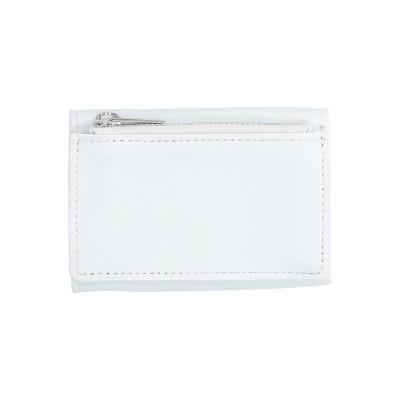 MM6 メゾン マルジェラ MM6 MAISON MARGIELA 財布 ホワイト 羊類革 100% 財布