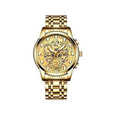 特別価格Mens Non Automatic Mechanical Watch Steel Waterproof Luminous Watches Men's好評販売中