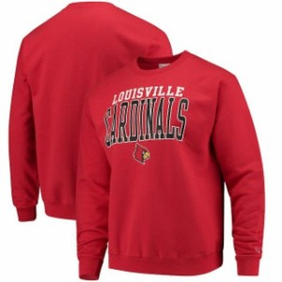 Champion チャンピオン スポーツ用品  Champion Louisville Cardinals Red Core Powerblend Crewneck Sweatshirt