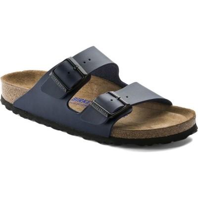 ビルケンシュトック Birkenstock レディース サンダル・ミュール シューズ・靴 Arizona Birko-Flor Soft Footbed Sandals Navy