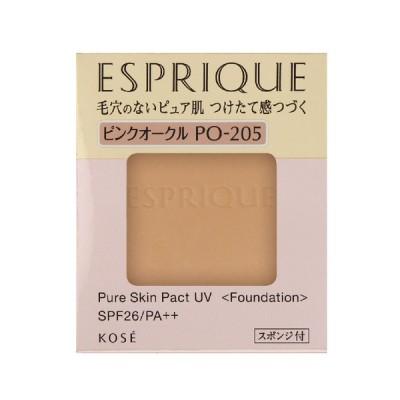 コーセー エスプリーク ピュアスキンパクトUVPO-205ピンクオークル9.3g(レフィル)