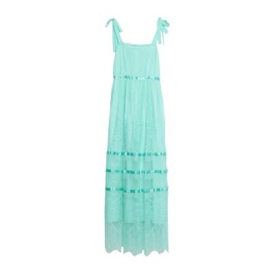 ブルーガール ブルマリン BLUGIRL BLUMARINE ロングワンピース&ドレス ライトグリーン 38 ナイロン 100% ロングワンピース&