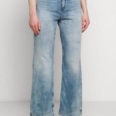 ドライコ=ン レディース ジーンズ SWEEP - Flared Jeans - blue denim