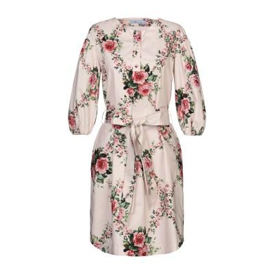 ブルマリン BLUMARINE ミニワンピース&ドレス ライトピンク 40 コットン 100% ミニワンピース&ドレス