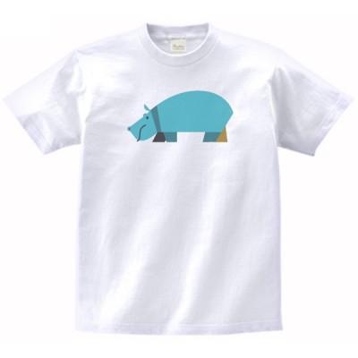 カバ 動物・生き物 Tシャツ