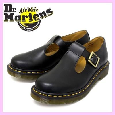 Dr.Martens ドクターマーチン POLLEY ポーリー BLACK ブラック レディース