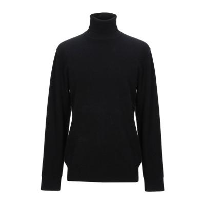 HōSIO タートルネック ブラック L ウール 70% / カシミヤ 30% タートルネック