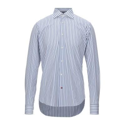 CÀRREL シャツ ホワイト 39 コットン 100% シャツ